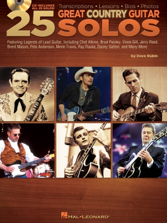 Product Cover for 25 Great Country Guitar Solos