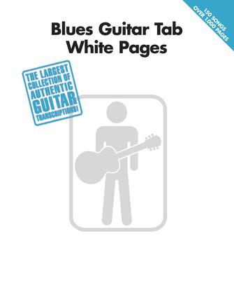 Product Cover for Blues Guitar Tab White Pages