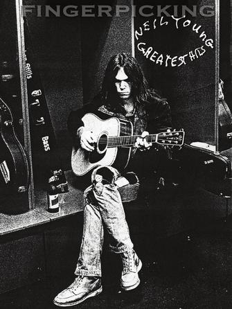 Product Cover for Fingerpicking Neil Young – Greatest Hits