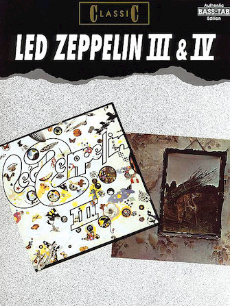 Led Zeppelin 3 & 4 Bass Collection
