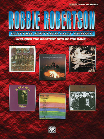 Product Cover for Robbie Robertson – Guitar Anthology