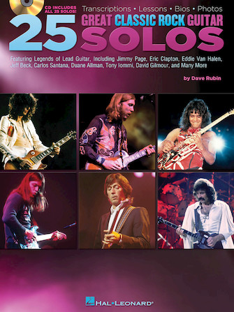 Product Cover for 25 Great Classic Rock Guitar Solos