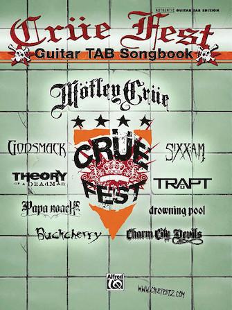 Cruefest - Guitar Songbook