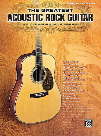 Product Cover for The Greatest Acoustic Rock Guitar