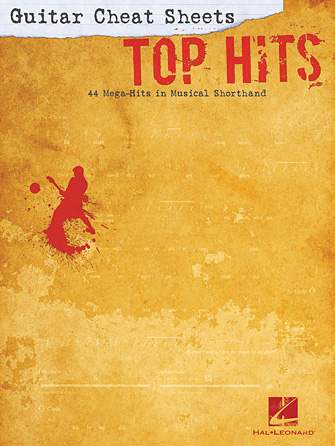 Product Cover for Guitar Cheat Sheets: Top Hits