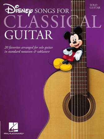 Product Cover for Disney Songs for Classical Guitar
