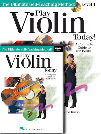 Product Cover for Play Violin Today! Beginner's Pack
