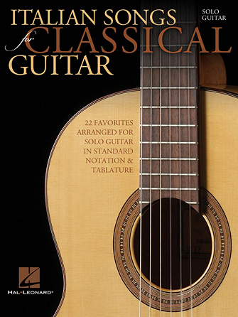 Product Cover for Italian Songs for Classical Guitar