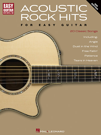 Acoustic Rock Hits for Easy Guitar – 2nd Edition | Hal