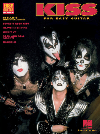 Product Cover for Kiss for Easy Guitar