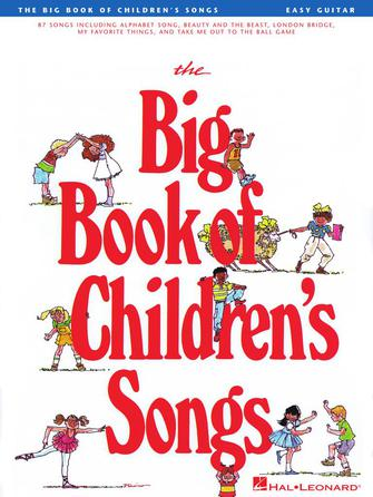 Product Cover for The Big Book of Children's Songs