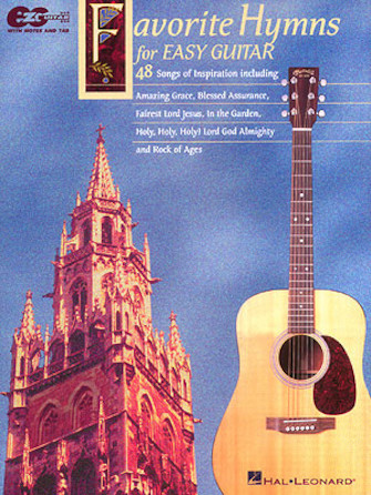 Product Cover for Favorite Hymns for Easy Guitar