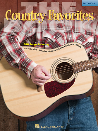 Product Cover for The Country Favorites Book