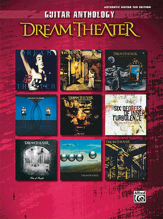 Product Cover for Dream Theater – Guitar Anthology
