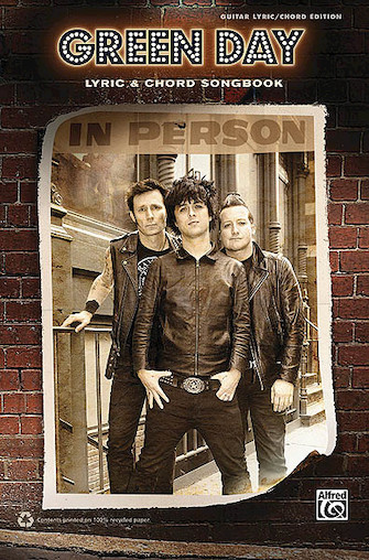 Product Cover for Green Day – Lyric & Chord Songbook