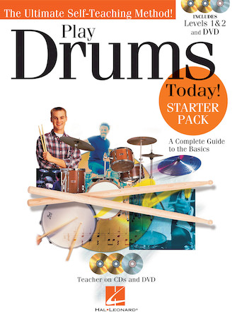 Product Cover for Play Drums Today! – Starter Pack