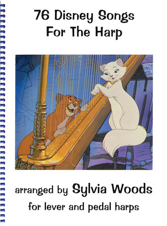 Product Cover for 76 Disney Songs for the Harp