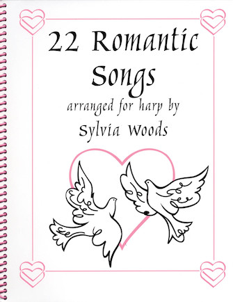 Product Cover for 22 Romantic Songs for the Harp