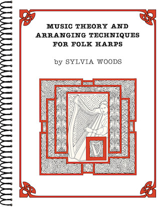 Product Cover for Music Theory and Arranging Techniques for Folk Harps