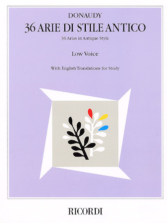 Product Cover for 36 Arie di Stile Antico