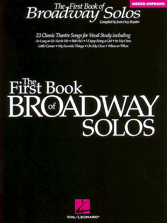 Product Cover for The First Book of Broadway Solos