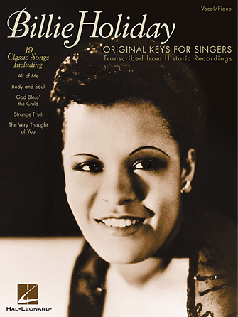 Product Cover for Billie Holiday – Original Keys for Singers
