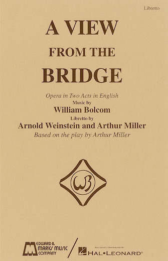 Product Cover for A View from the Bridge – Libretto