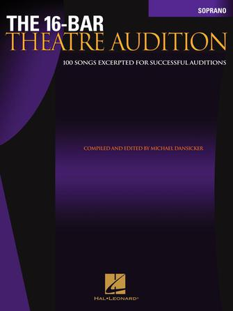 Product Cover for The 16-Bar Theatre Audition Soprano