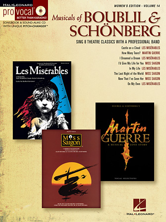 Product Cover for Musicals of Boublil & Schönberg