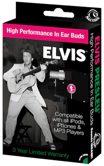 Product Cover for Elvis Presley (Early Era) – In-Ear Buds