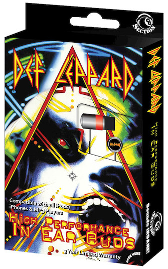 Product Cover for Def Leppard – In-Ear Buds