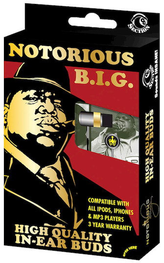 Product Cover for Notorious B.I.G. (Biggy Smalls) – In-Ear Buds