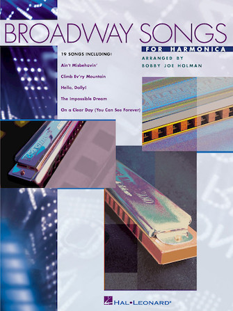 Product Cover for Broadway Songs for Harmonica