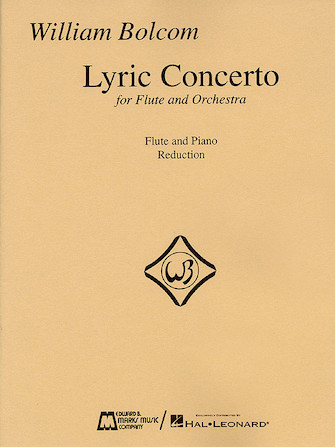 Product Cover for William Bolcom – Lyric Concerto for Flute and Orchestra