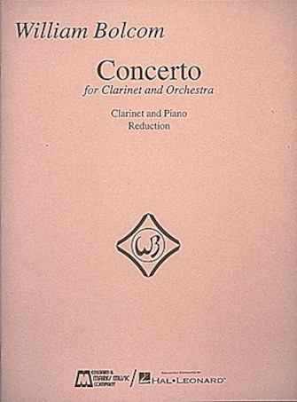 Product Cover for William Bolcom – Concerto for Clarinet & Orchestra