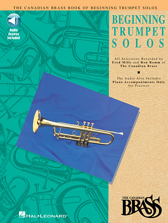 Product Cover for Canadian Brass Book of Beginning Trumpet Solos
