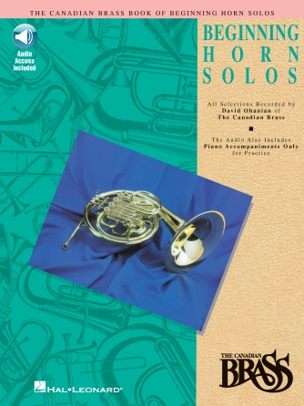 Product Cover for Canadian Brass Book of Beginning Horn Solos