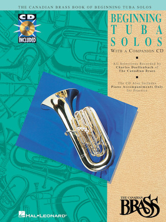 Product Cover for Canadian Brass Book of Beginning Tuba Solos