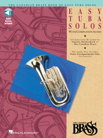 Product Cover for Canadian Brass Book of Easy Tuba Solos