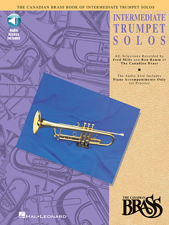 Product Cover for Canadian Brass Book of Intermediate Trumpet Solos