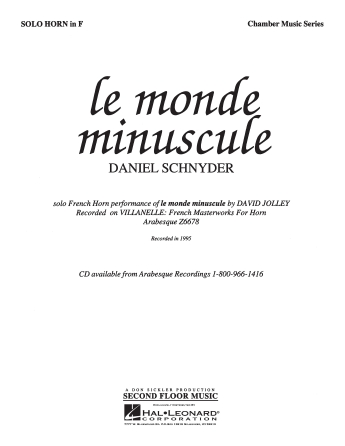 Product Cover for Le Monde Miniscule