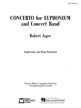 Product Cover for Concerto for Euphonium and Concert Band