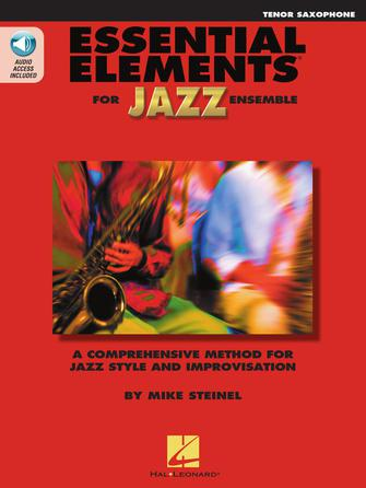 Product Cover for Essential Elements for Jazz Ensemble – Tenor Saxophone