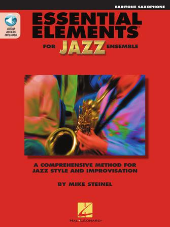 Product Cover for Essential Elements for Jazz Ensemble – Baritone Saxophone