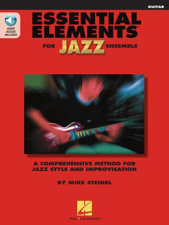 Product Cover for Essential Elements for Jazz Ensemble – Guitar