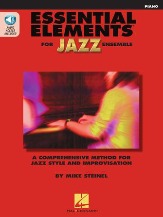Product Cover for Essential Elements for Jazz Ensemble – Piano