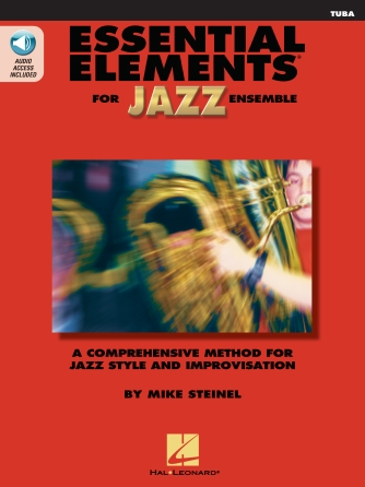Product Cover for Essential Elements for Jazz Ensemble – Tuba (B.C.)