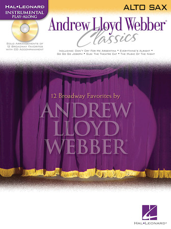 Product Cover for Andrew Lloyd Webber Classics - Alto Sax