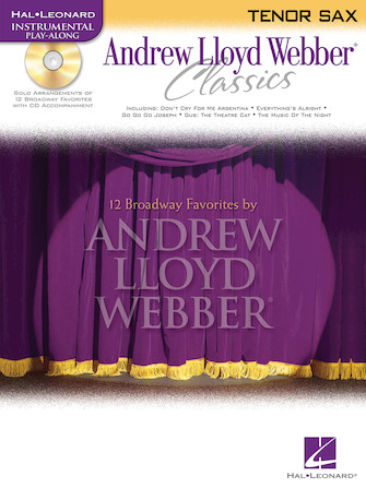 Product Cover for Andrew Lloyd Webber Classics - Tenor Sax