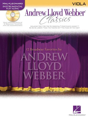 Product Cover for Andrew Lloyd Webber Classics - Viola